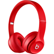 Audífonos externos inalámbricos Solo2 - Rojo