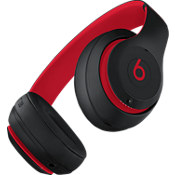 Audífonos externos inalámbricos Beats Studio3 - The Beats Decade Collection - Defiant Black/Rojo