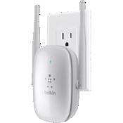 Extensor de alcance Wi-Fi de doble banda con enchufe Belkin N600