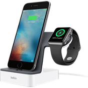 Base de carga PowerHouse para Apple Watch y iPhone