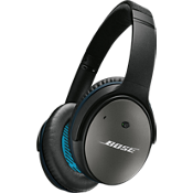 Auriculares QuietComfort 25 con cancelación acústica de ruido - Dispositivos Apple - Negro