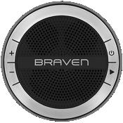 Altavoz inalámbrico portátil HD Braven Mira - Negro