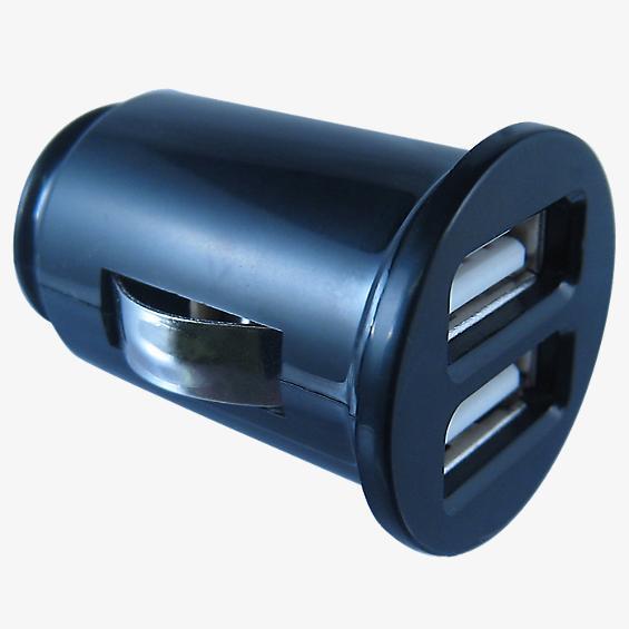Cargador para auto doble USB