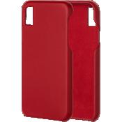 Estuche de piel Barely There para el iPhone XS Max - Cardinal