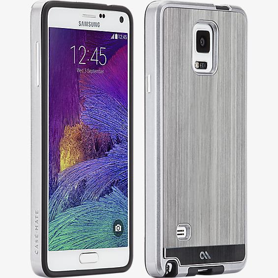 Aluminio pulido para Samsung Galaxy Note 4 - Color Gunmetal