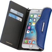 Estuche tipo folio con pulsera para iPhone 6/6s - Cobalto