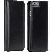Estuche tipo billetera folio para iPhone 6/6s - Negro