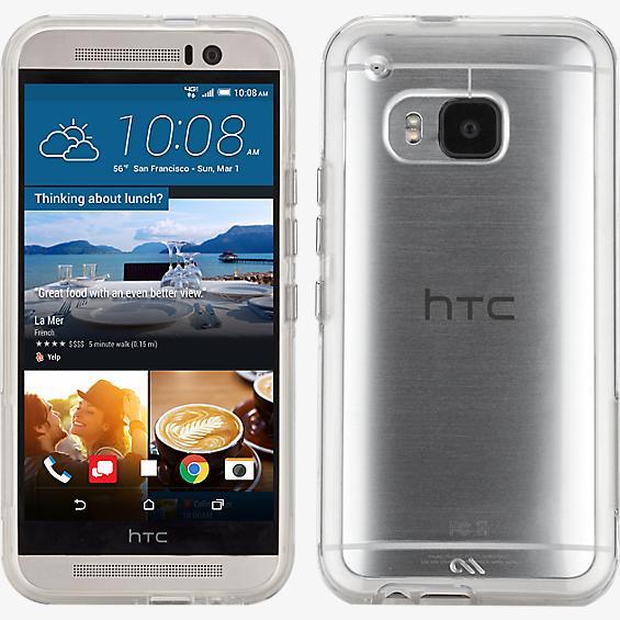Estuche Naked Tough para HTC One M9 - Transparente/transparente