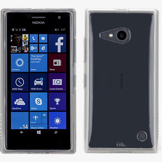 Naked Tough para Microsoft Lumia 735 - Transparente