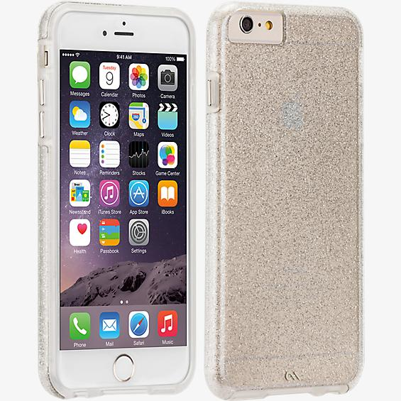 Sheer Glam para iPhone 6 Plus/6s Plus - Transparente/Champaña