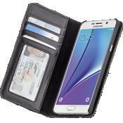 Estuche tipo billetera folio para Samsung Galaxy Note 5