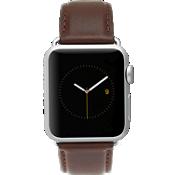 Banda de cuero exclusiva de 42 mm Apple Watch Series 3,2,1 - Marrón