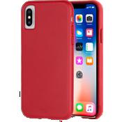 Estuche de piel Barely There para el iPhone XS/X - Cardinal
