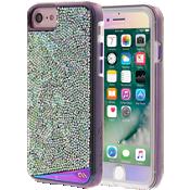 Estuche Iridescent y Protector de pantalla de vidrio Gilded Glass Iridescent para iPhone 7/6s/6