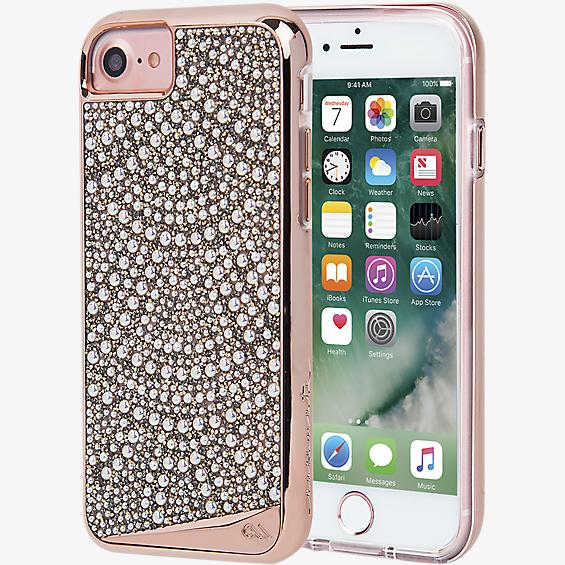 Estuche Brilliance Lace para iPhone 7/6s/6 - Color Rose Gold