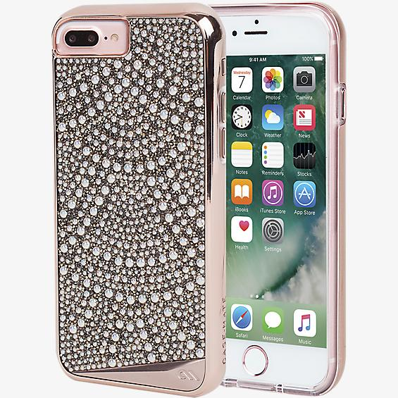 Estuche Brilliance Lace para iPhone 7 Plus/6s Plus/6 Plus - Color Rose Gold
