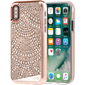 Brilliance Lace para iPhone X - Color Rose Gold