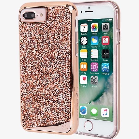 Estuche Brilliance Tough para iPhone 7 Plus - Color Rose Gold