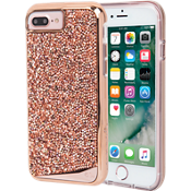 Carcasa Brilliance Tough para iPhone 8 Plus/7 Plus/6s Plus/6 Plus - Oro rosa