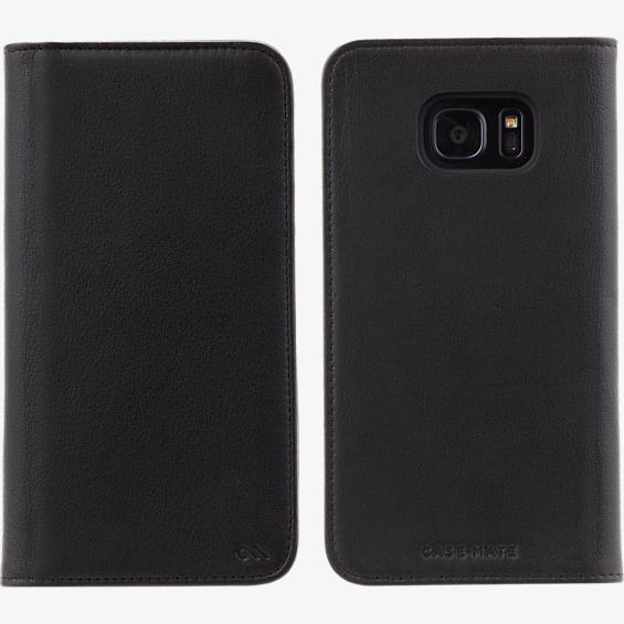 Estuche tipo folio billetera para Samsung Galaxy S7