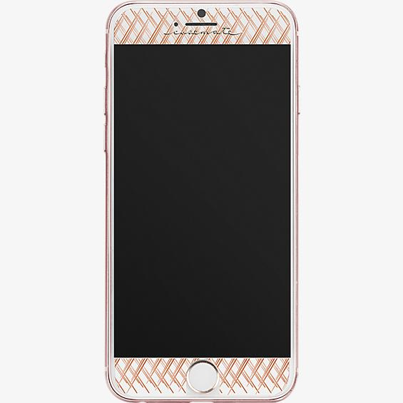 Protector de pantalla de vidrio Gilded Glass para iPhone 7 Plus