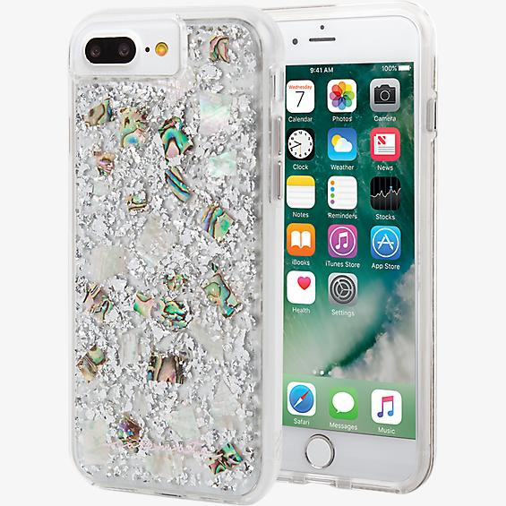 Carcasa Karat Pearl para iPhone 8 Plus/7 Plus/6s Plus/6 Plus - Madre de perla