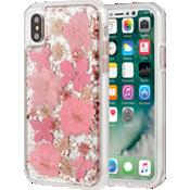 Carcasa Karat Petals para iPhone X - Rosa