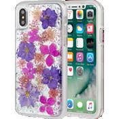 Karat Petals para iPhone X - Púrpura