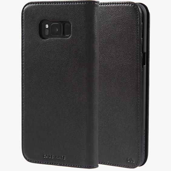 Estuche tipo billetera para Galaxy S8+