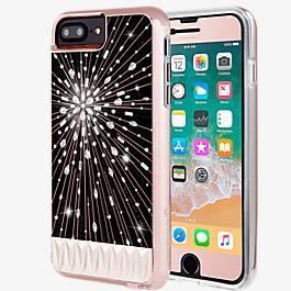 Paquete Luminescent y vidrio Gilded para iPhone 8 Plus/7 Plus/6s Plus/6 Plus