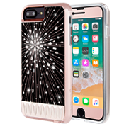Paquete Luminescent y vidrio Gilded para iPhone 8 Plus/7 Plus/6s Plus/6 Plus