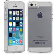 Estuche Naked para iPhone 5/5s - Transparente con bordes transparentes