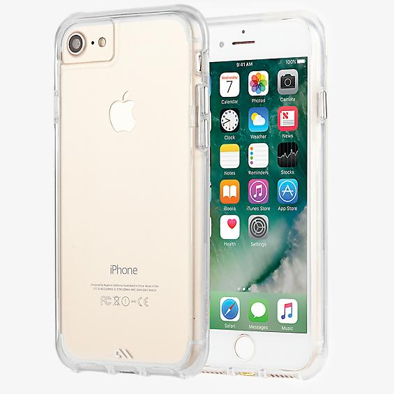 Carcasa Tough Clear para iPhone 8/7/6s/6
