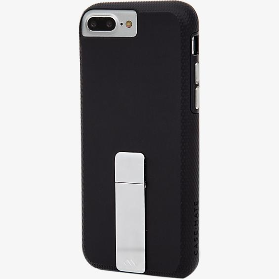 Carcasa Tough Stand para iPhone 8 Plus/7 Plus/6s Plus/6 Plus - Negro/Gris