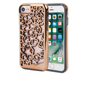 Estuche Tough Stars Layers para iPhone 7 - Color Rose Gold/Gris