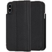 Estuche tipo billetera para el iPhone XS/X - Negro
