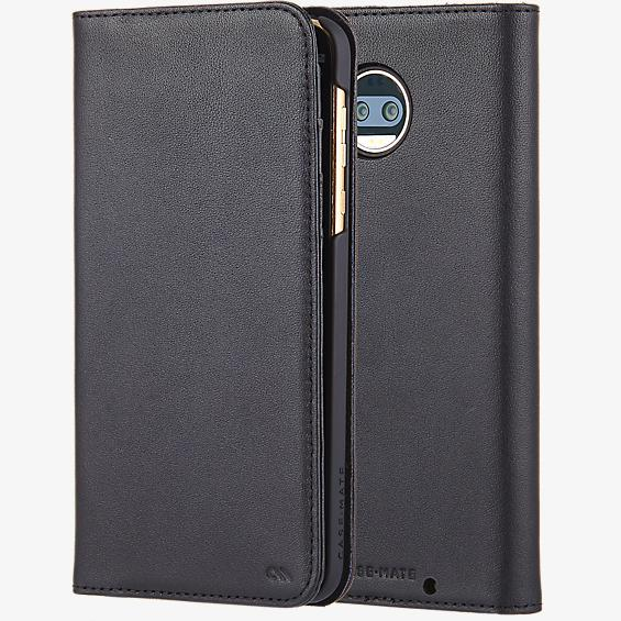 Estuche tipo billetera folio para moto z<sup>2</sup> force edition