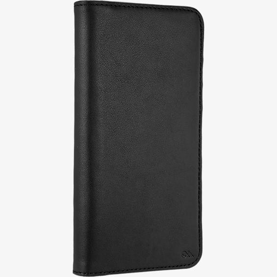 Estuche tipo billetera folio para iPhone 7 Plus - Negro