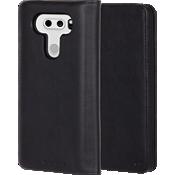 Estuche tipo billetera folio para LG V30 - Negro