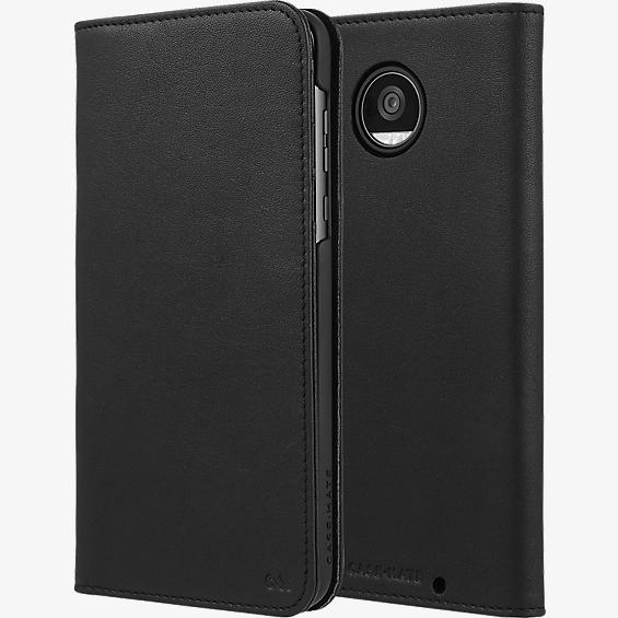 Estuche tipo billetera folio para Moto Z2 Play