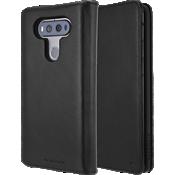 Estuche tipo billetera folio para LG V20 - Negro