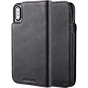 Estuche tipo billetera folio para iPhone X - Negro