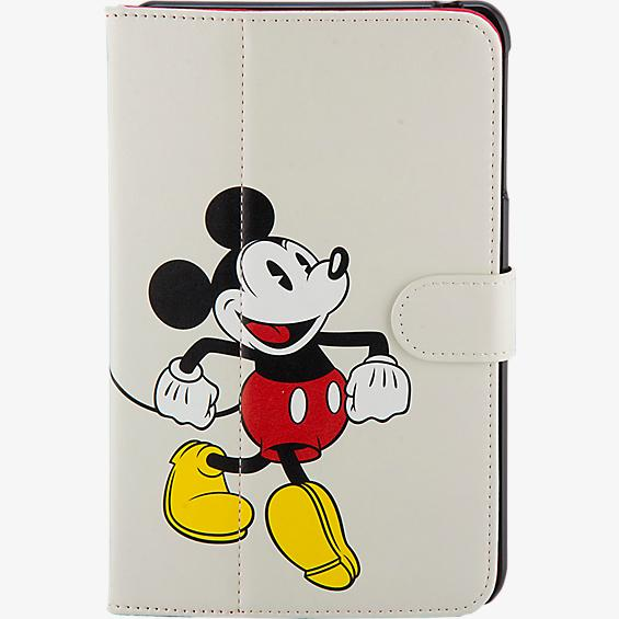 Estuche tipo folio con Mickey Mouse para Ellipsis 8 - Blanco
