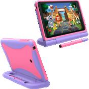 Estuche Kids para tablet Ellipsis para niños - Rosa/púrpura