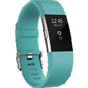 Pulsera de actividad y ritmo cardíaco Charge 2 - Verde azulado