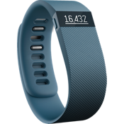 Pulsera inalámbrica de actividad Fitbit Charge - Color Black Slate, grande