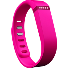 Pulsera inalámbrica de actividad + sueño FitBit Flex - Rosa
