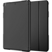 Folio Case & Tempered Glass Bundle for iPad 9.7 - Black