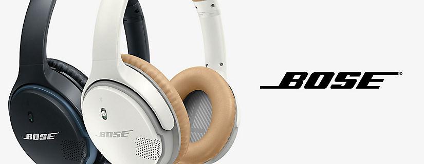 Disfruta de llamadas y audio inalámbrico sin precedentes con los auriculares inalámbricos SoundLink® II para usar alrededor de la oreja