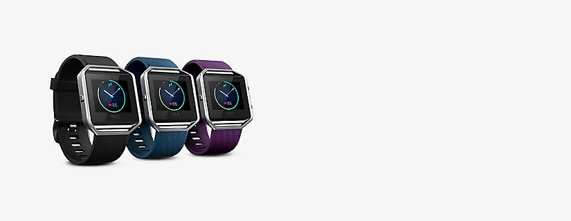 Lleva el registro de tu actividad física a un nuevo nivel con Fitbit Blaze™